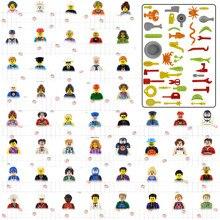 Кукла мини строительные блоки цифры девочек роботы с принтом медсестры военные фигурки свадебные Женихи фигурки в Стиле косплей с милым пр...