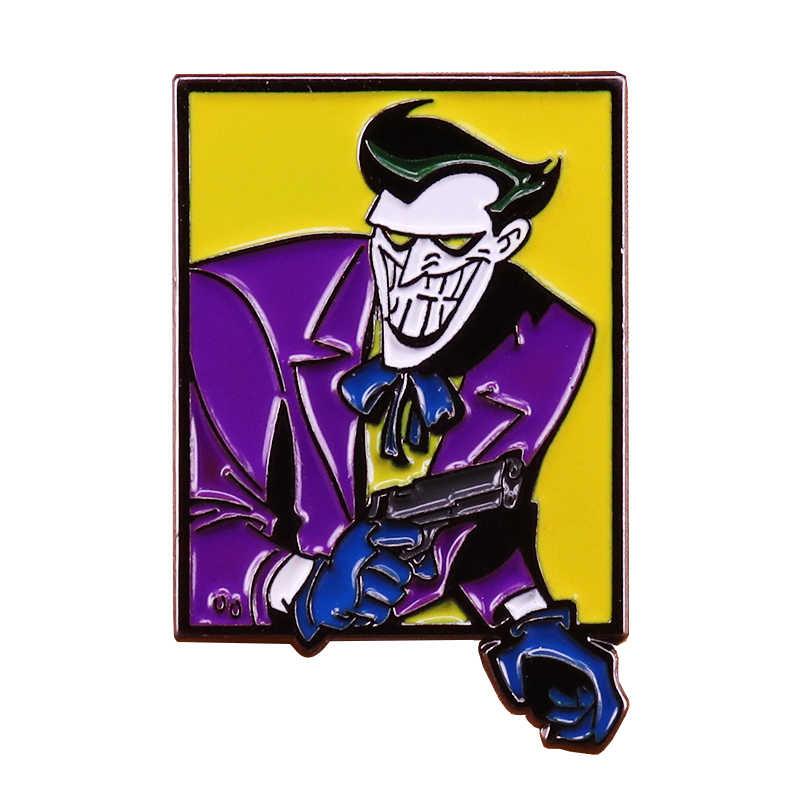 Joker Joaquin pin fashion jewelry