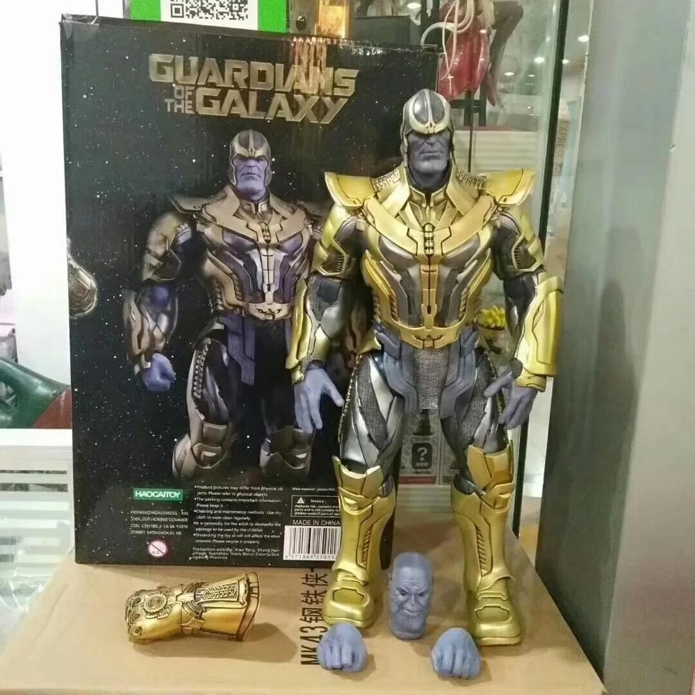 1/6 Scale 36CM High Quality Marvel Hero Thanos Action Figures HC Avenger Series Plus Size Model Toys Gifts Collection image