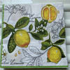 Decoupag paper napkins wedding birthday party Christmas vintage tissue lemon flower striped beautifly servilletas table decor