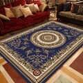 חם רטרו פרסית פרחוני שטיח ללא החלקה רחיץ שטיח לחדר שינה סלון מטבח XJS789