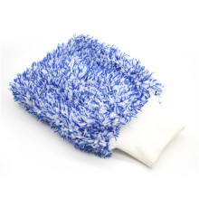 Soft Absorbancy Glove High Density Car Cleaning Ultra Soft Easy To Dry Auto Detailing Microfiber Wash Mitt Cloth 28x20cm