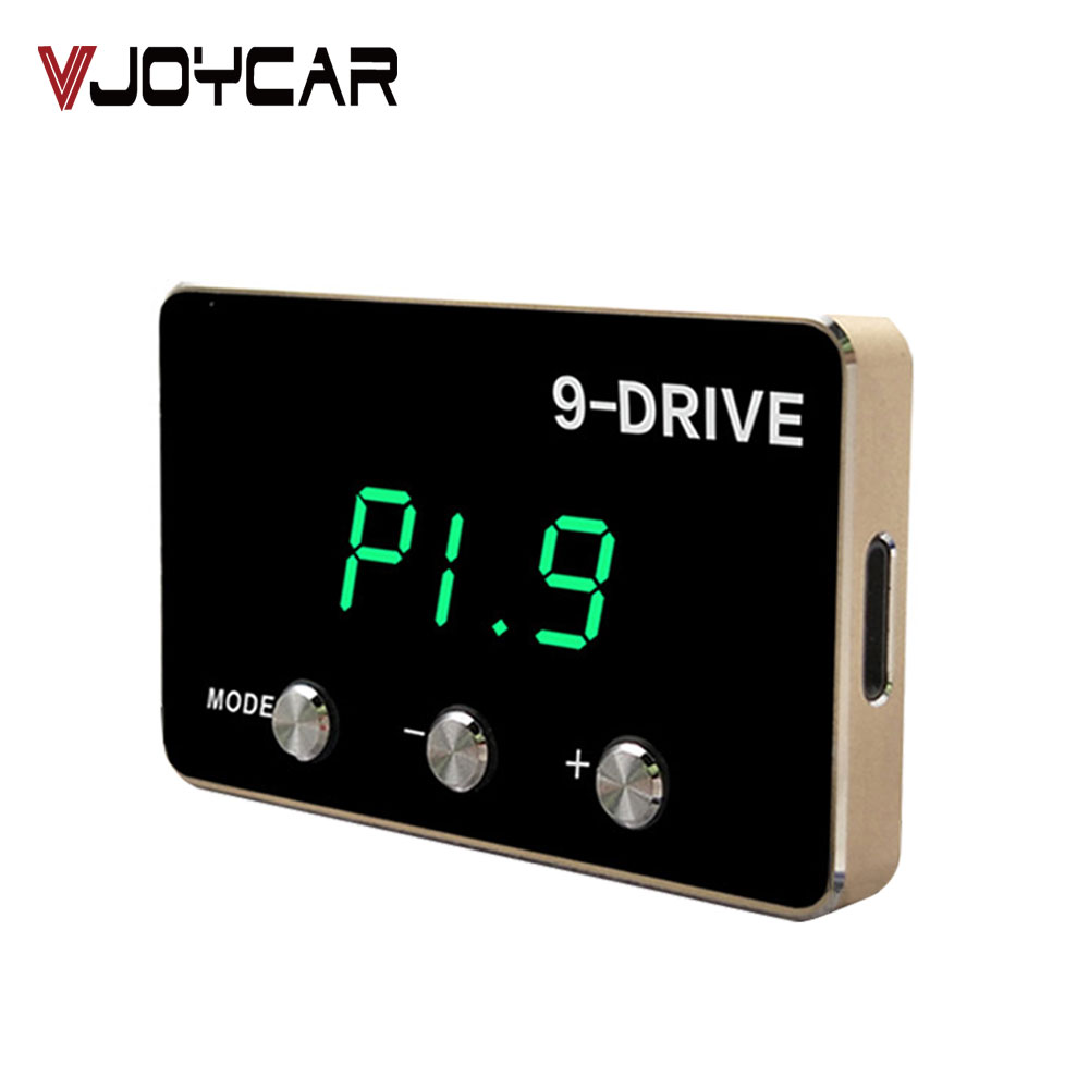 9-Drive Car Electronic Throttle Controller Racing Accelerator Potent Booster For All Cars Tuning Parts Accessory