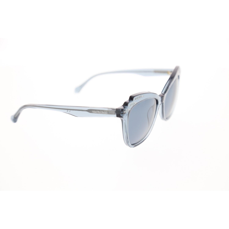 Women's sunglasses rc 1085 84v bone navy blue organic square square 55-16-140 roberto cavalli