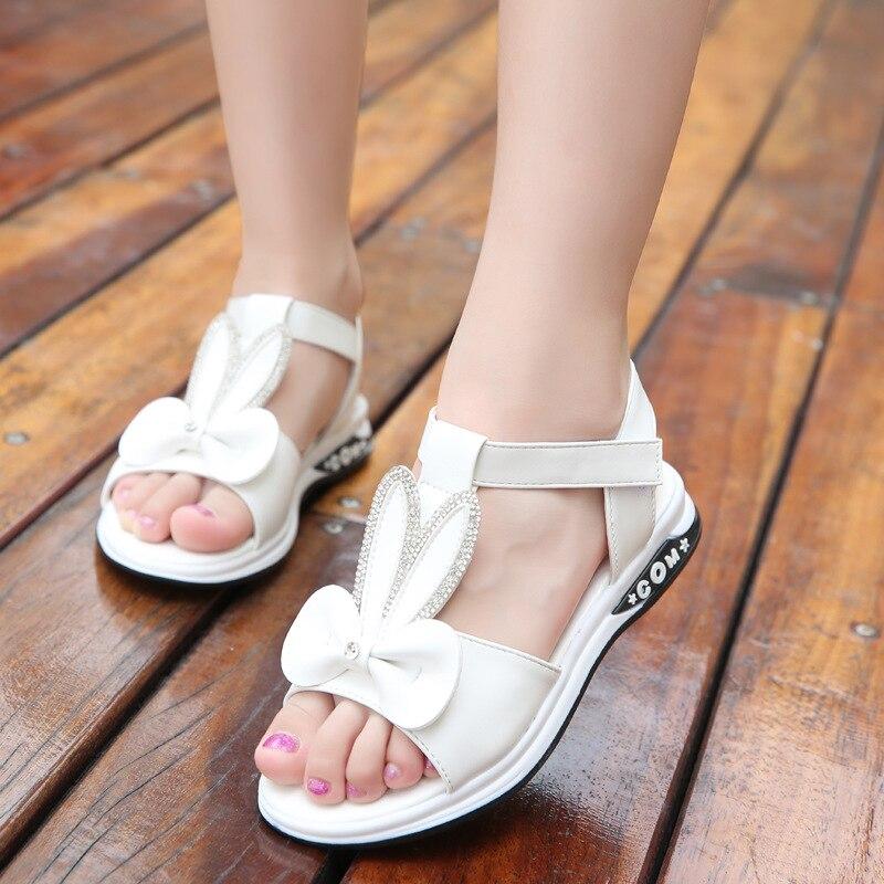 princesa sapatos de fundo macio antiderrapante praia sandalias 03
