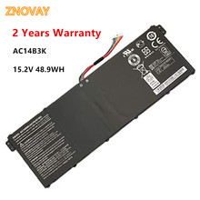Notebook Battery AC14B3K for Acer Aspire R3 R3-131T R5 R5-471T R5-571T ES1-572 15.2V 48.9WH/3220mAh Laptop Battery