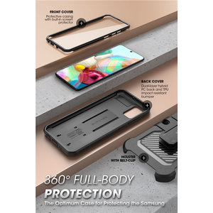 Image 3 - For Samsung Galaxy A71 Case (Not Fit A71 5G Series) SUPCASE UB Pro Full Body Rugged Holster Cover with Built in Screen Protector