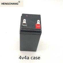 Boîtier en plastique 4V4Ah remplacer les batteries au plomb par une batterie au lithium 18650 boîte de rangement