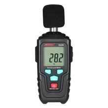 MESTEK Mini LCD Digital Noisemeter Sound Level Meter 35-135dB Noise Volume Measuring Instrument Decibel Monitoring Tester