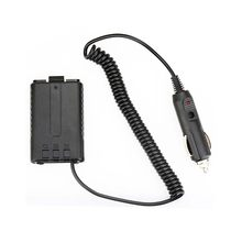 Baofeng 12V Car Charger Battery Adapter Eliminator for Baofeng Walkie Talkie UV5R Two way Radio(China)