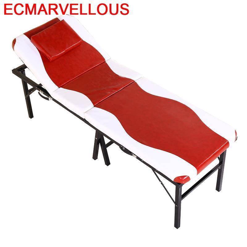 Cadeira De Massagem Cama Beauty Mueble Tattoo Lettino Massaggio Salon Chair Camilla Masaje Plegable Folding Massage Bed