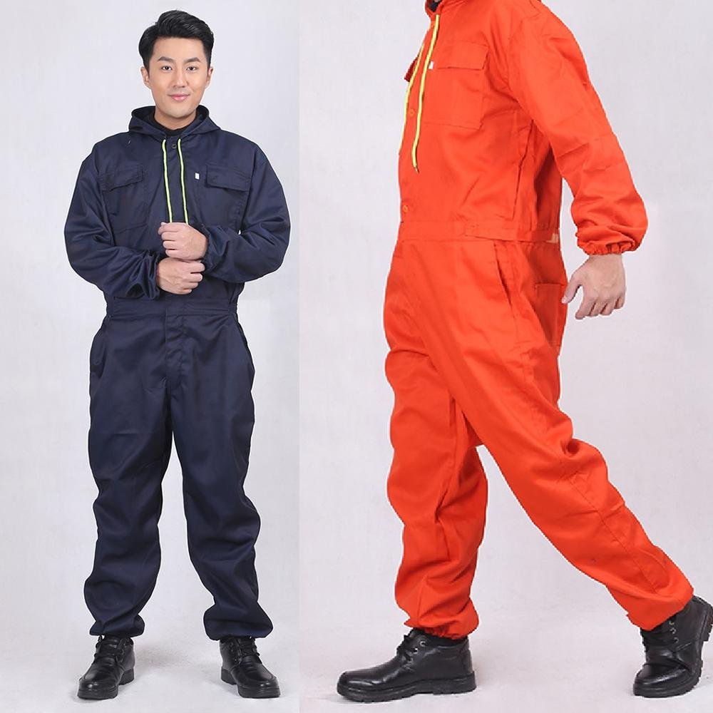 New Overalls Men Women Work Clothes Dust-proof Wear Resistant Clothing Jumpsuit Factory Welding Clothing Coveralls