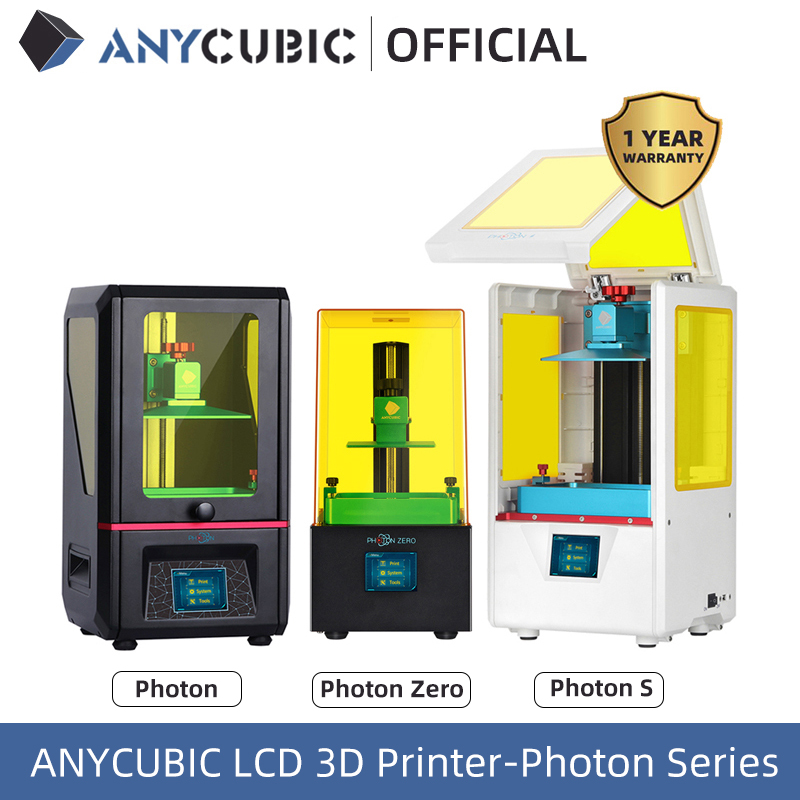 2020 New ANYCUBIC Photon Photon-S Photon-Zero 3D Printer 405nm Matrix UV Module SLA 3d Printer Resin printer Impresora 3d