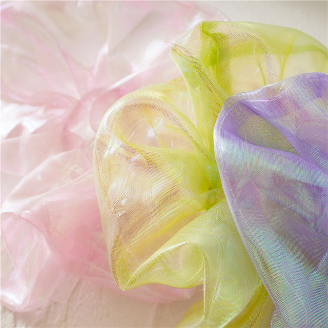 Фото новая мода большая фантазия блестящая ткань бутик длинный хвост цена