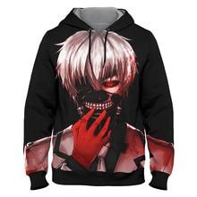 Anime Hoodies Tokyo ghoul Bleach 3d Print Hoodie Men Women Sweatshirts Autumn Winter Streetwear Harajuku Tops Boys Gifts