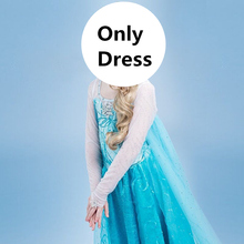 Dress Elsa Christmas Princess Party-Clothes Baby-Girls Kids 10-Years for Vestidos Halloween