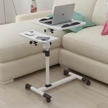 Cama de mesa do portátil preguiçoso simples com mesa de cabeceira movente da terra de dobramento simples