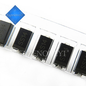 100pcs/lot sma 1N5819 SMD IN5819 1A 40V do-214ac Schottky diode ss14 In Stock