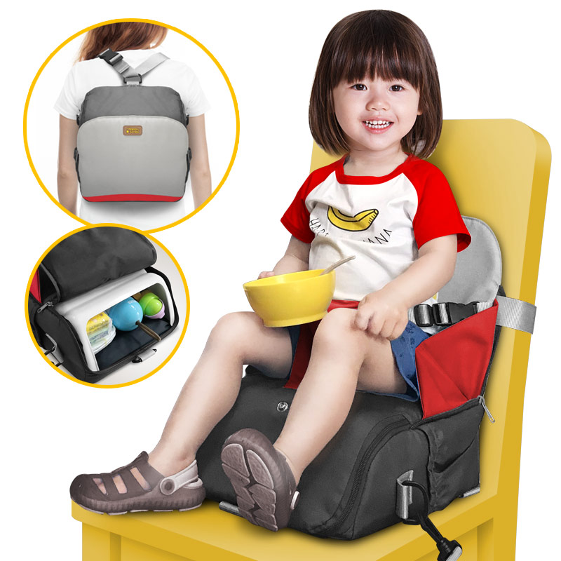 For 7 Months To 4 Years Old 2 In 1 Multi-function For Large Capacity Storage And Carry Kids Portable Chair Baby Booster Seats