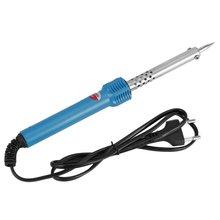 50Вт/60W электрический паяльник медную голову стальная крышка высокая термостойкость анти-ошпарить изоляции ручки ЕС/США штекер