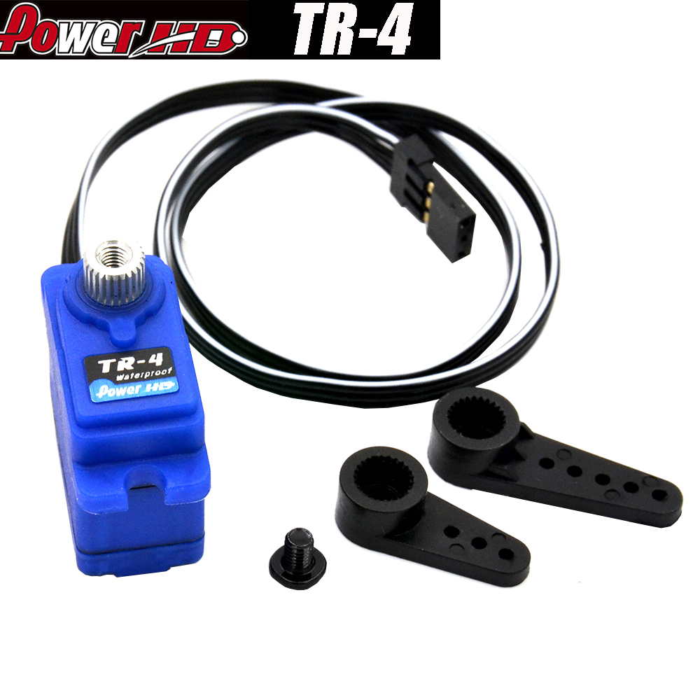 Power HD TR-4 PowerHD TR4 Mini 7.4V 2.6KG Waterproof Metal Gear Servo For TRX4 RC Vehicles Model Parts