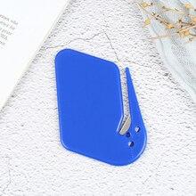 2pcs/set Plastic Letter Opener Sharp Mail Envelope Opener Safety Papers Cutter