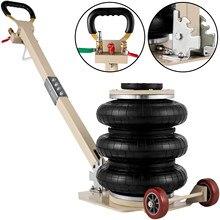VEVOR Pneumatische Triple Air Tasche Auto Jack Quick-Lift 3T/5T mit Zwei Räder für Auto Van SUV Reparatur Werkzeug