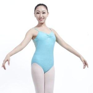 Image 4 - Maillot de Ballet para Mujer, vestido Gimnástico de Ballet, vestido de práctica de baile para adulto, traje de cuerpo de una pieza, Darling XC 2544