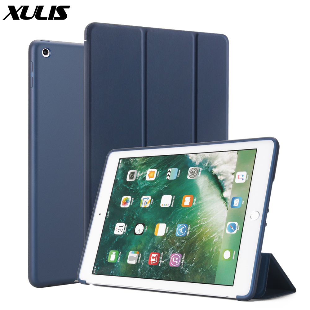 For ipad 10.2 Cover Leather Smart Funda For ipad 10.2 2019 Case Trifold Flip Stand Case For ipad 7th Generation A2197(China)