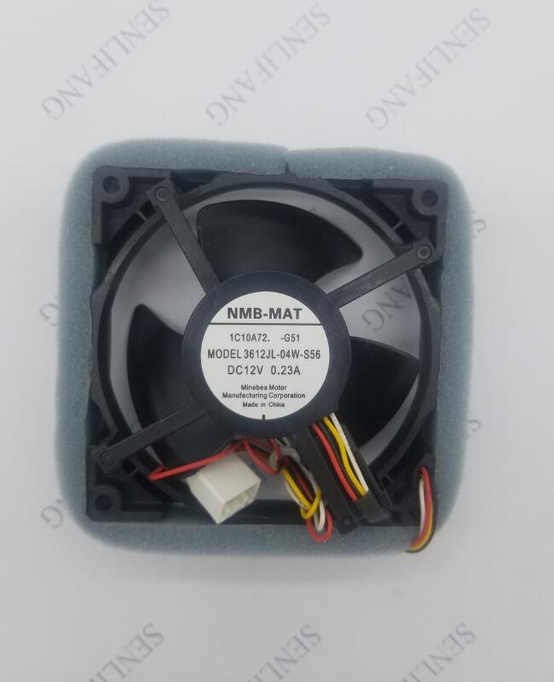 For NMB 3612JL-04W-S56 DC12V 0.23A 4pin Axial Fan Equipment Fan 92mm Cooling Fan Processor Cooler Heatsink Fan