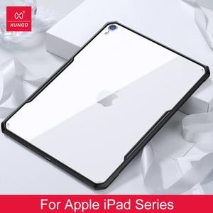 Image 1 - Für iPad 2018/2020 Pro 11 12,9 2020 air 2 9,7 air 3 10,5 10,2 7th zoll Für iPad mini 1 2 3 4 5 XUNDD Acryl + TPU Schutzhülle