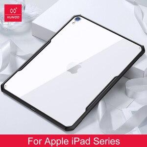 Image 1 - IPad 2018/2020 프로 11 12.9 2020 공기 2 9.7 3 10.5 10.2 7th iPad 미니 1 2 3 4 5 XUNDD 아크릴 + TPU 보호 케이스