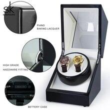 Shengke Watch Box Automatic Mechanical Watch 2021 SK Winder On The Chain Watch Box Shake Table Watch Box Motor Electric Rotating