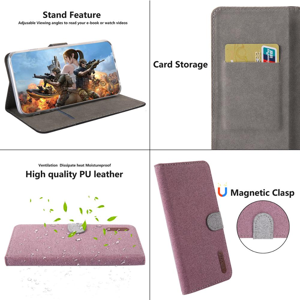 Luxury Case Redmi 5plus Capinhas Cloth Texture Flip Magnetic Wallet Card Holder Stand Cover For Xiaomi note 5 Coque Fundas Capa