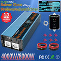 Чистая синусоида Инвертор 1000W 2000W 3000W 4000W 5000W 6000W 7000W 8000W DC12V/24V/48V до 120V 220V 230V 240V и пульт дистанционного управления