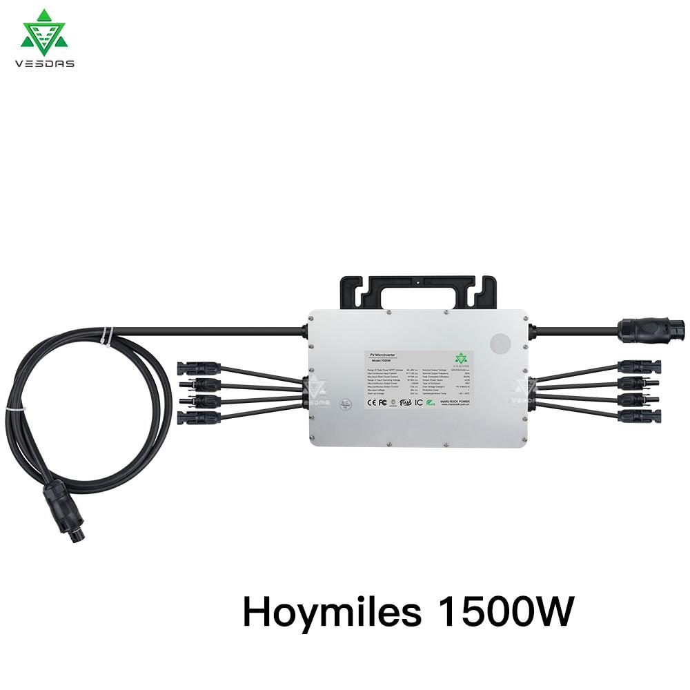 Hoymiles 1500W Micro Solar Inverter ...