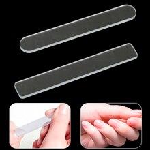 Профессиональные маникюрные пилки для дизайна ногтей, стеклянная пилка для ногтей, пилочка для шлифовки, полировка, набор
