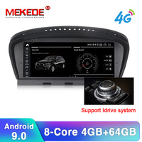 MEKEDE 8.8HD 4G+32G Android 9.0 car radio multimedia player for BMW 5 Series E60 E61 E62 E63 E64 E90 E91 E92 CCC CIC system