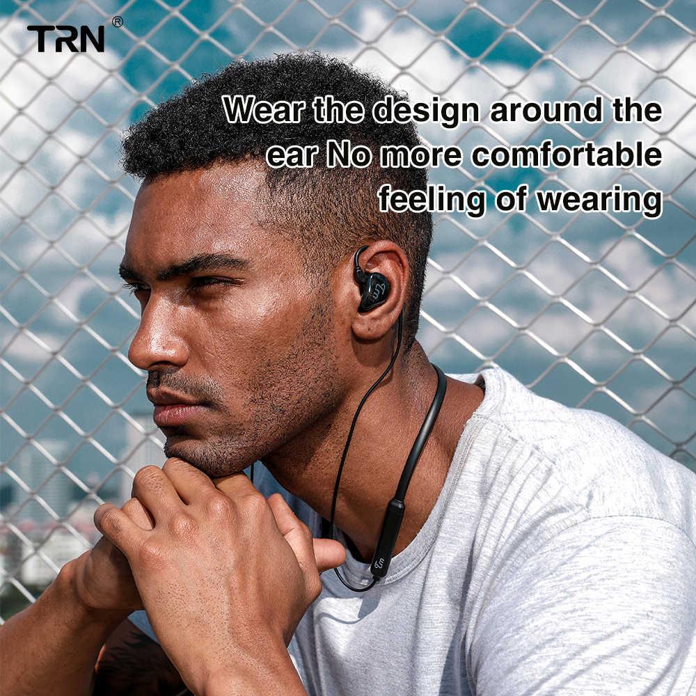 Kabel Bluetooth TRN BT3S Aptx 0.75mm 0.78mm kabel słuchawkowy Bluetooth MMCX IE80 A2DC do słuchawek