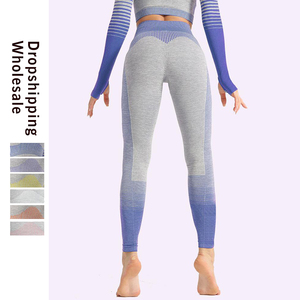 Image 2 - LAISIYI Leggings Fitness pour femmes, impression numérique, pantalon pour femmes, taille haute, Push Up, jambières dexercices