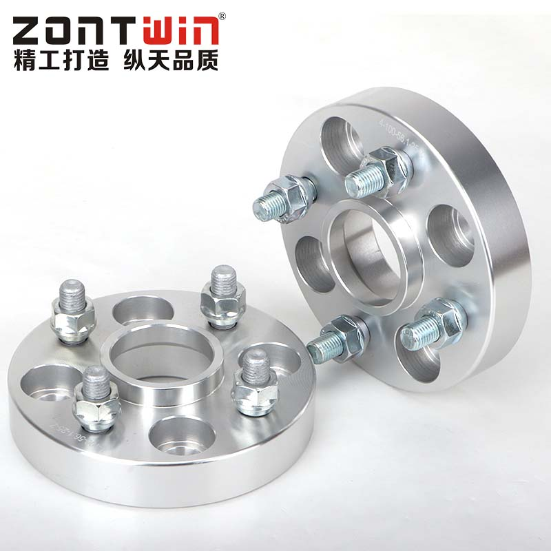 2PCS PCD 4X100 Center Bore 56.6mm Thick 20/25/30/35mm Wheel Spacer Adapter  M12XP1.5 Nut Suitable For FIAT
