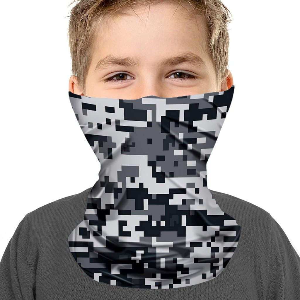 Kids Youth Neck Gaiter Sun Mask - Junior UV Protection Face Coverage Tube Mask Protection Breathable Respirator Mascarillas