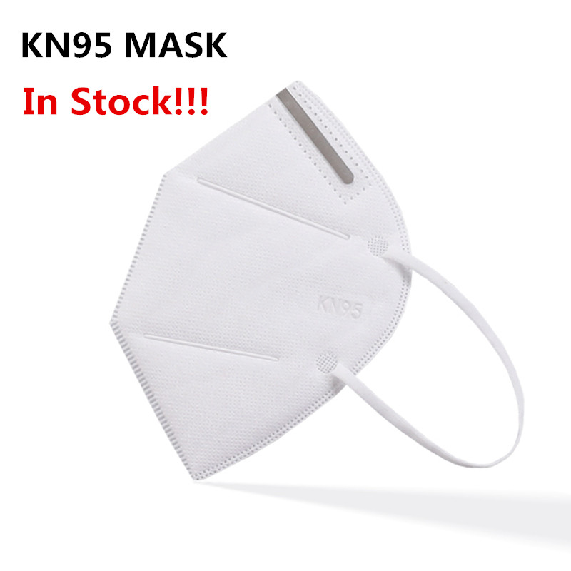 KN95mask In Stock Fast Delivery Face Masks Anti Dust Mask 4 Layers 95% Filter Earloops Dustproof Mask Shipping 24 Hours
