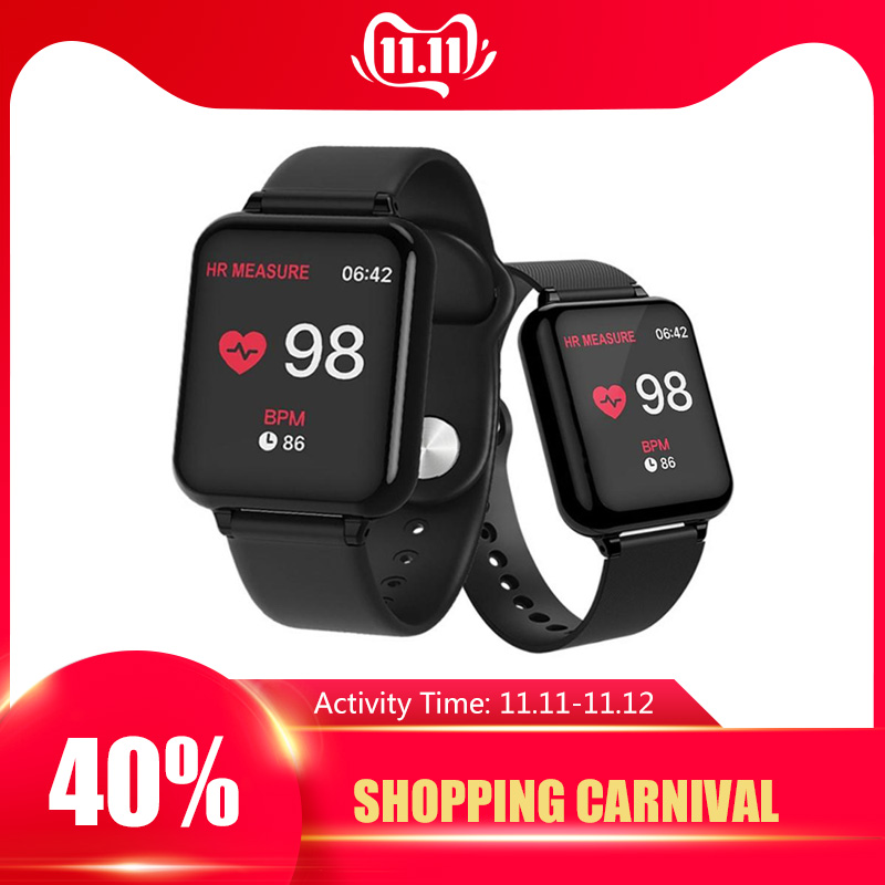 B57 Smart Watch Fitness Tracker Smartwatch for Man Women Sports Bracelet Heart Rate Monitor Smart Watches Fit for Android IOS