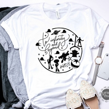 2019 Women Toy Story Inspired T-shirt To Infinity and Beyond Toy Story Tee Shirt