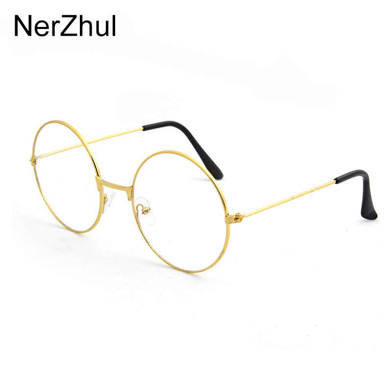 Okrągłe okulary okulary ramka mężczyźni/kobiety wyczyść fałszywe okulary okulary okrągłe oko ramki okularów dla kobiet/mężczyzn