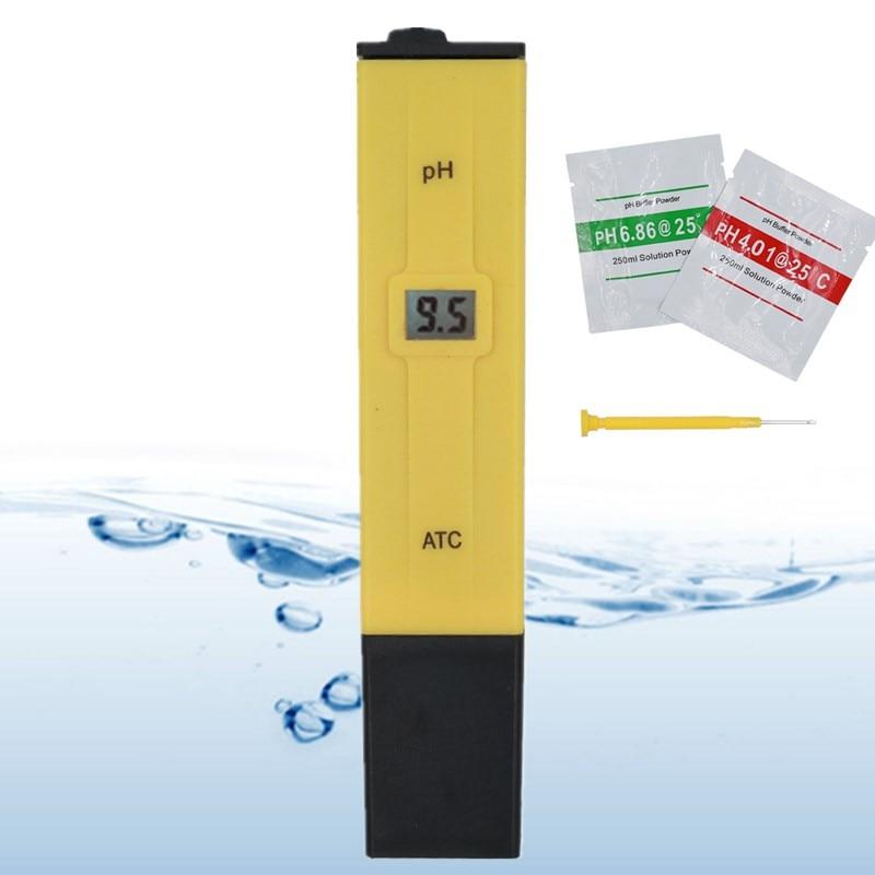 Портативный PH тестер-ручка для аквариума PH тестер PH Измеритель воды Точный Цифровой PH-метр ручка 0-14 карманная скидка 20%