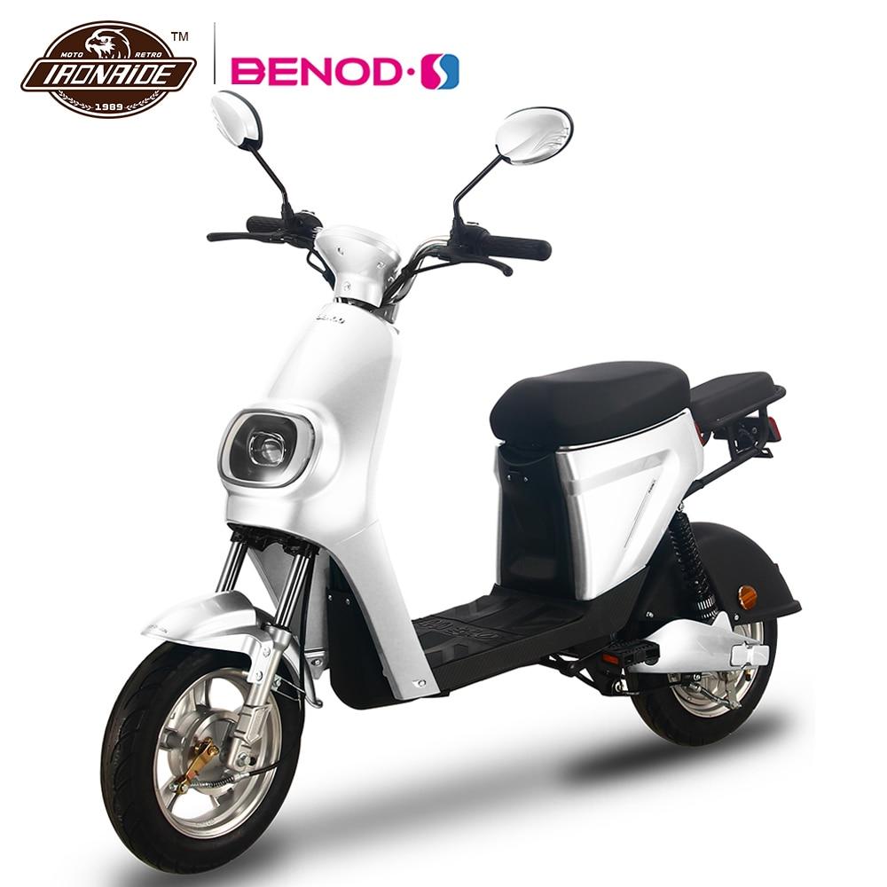 BENOD 50 км литий Батарея скутер электрический мотоцикл 48V охраны окружающей среды мотор для электрического велосипеда для Для женщин