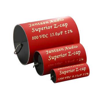 2pcs/lot Jantzen Audio Superior Z-cap series 800VDC 2% Audiophile-grade crossover coupling audio capacitor free shipping