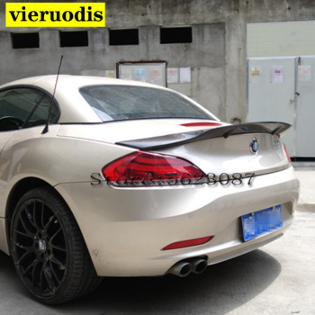 For BMW Z4 E89 Coupe Car Decoration 18i 20i 23i 28i 30i 35i Carbon Fiber Rear Trunk Spoiler 2009-2014 R Style image